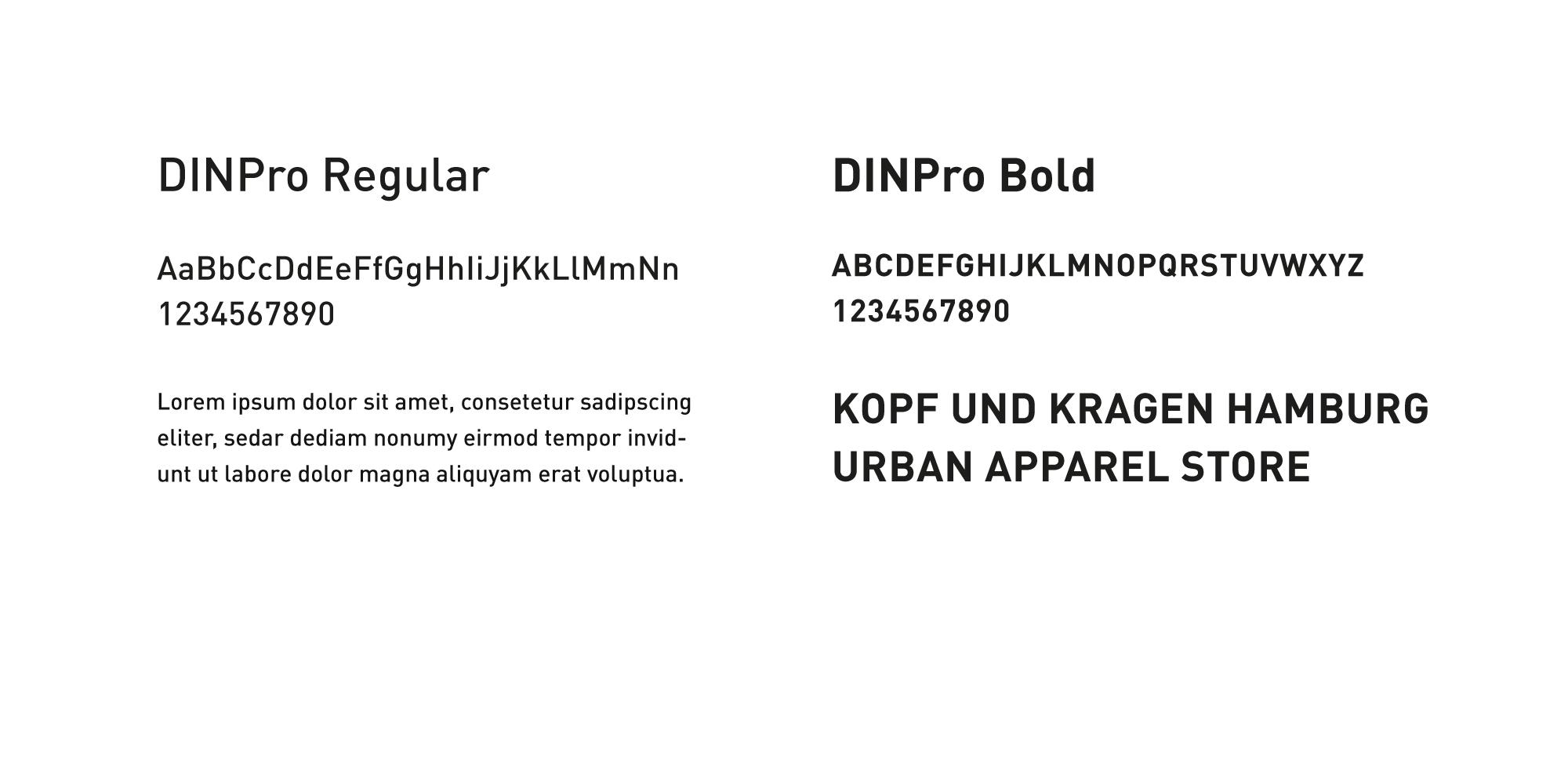 kopf-und-kragen-typography